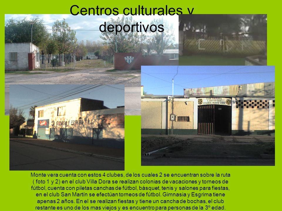 Centros culturales y deportivos