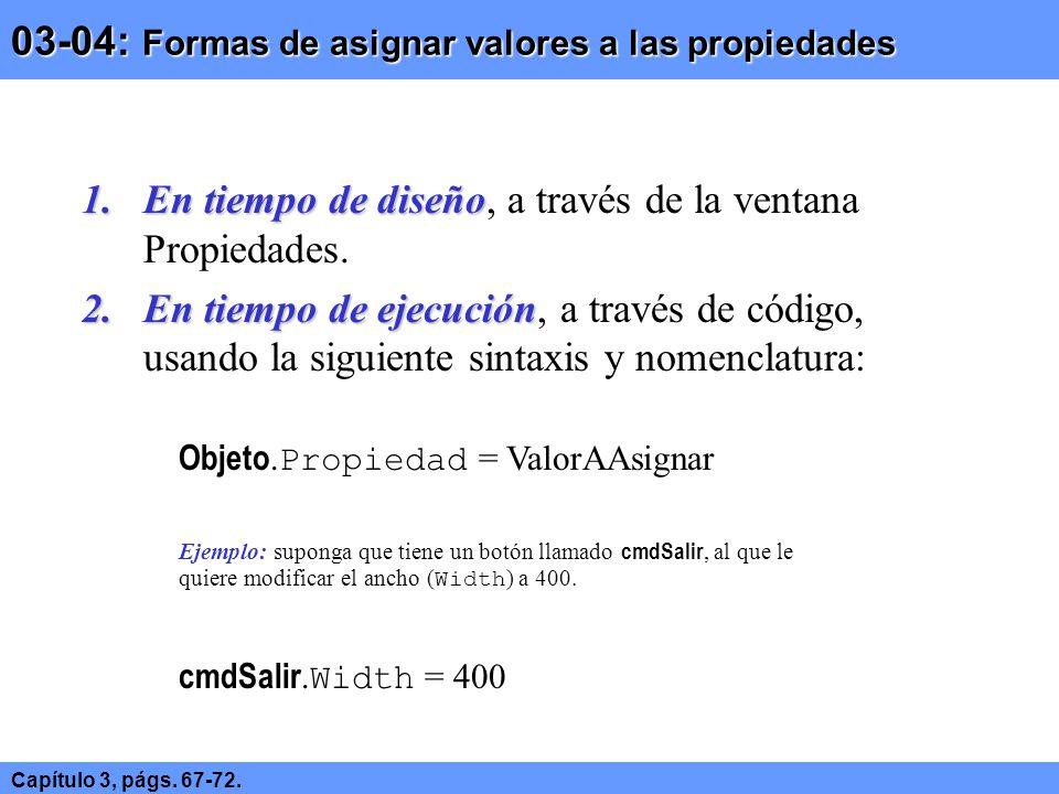 03-04: Formas de asignar valores a las propiedades