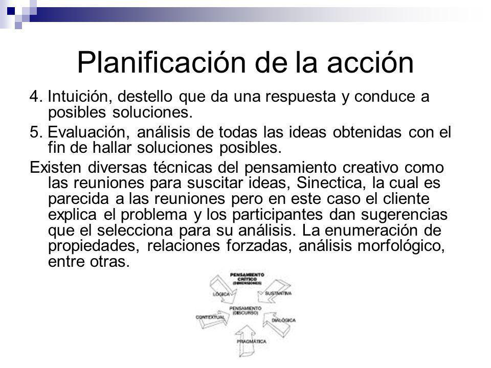 Planificación de la acción