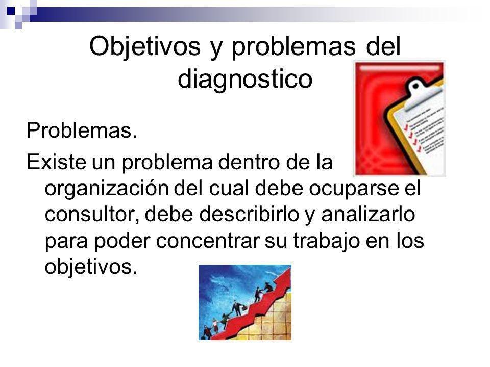 Objetivos y problemas del diagnostico