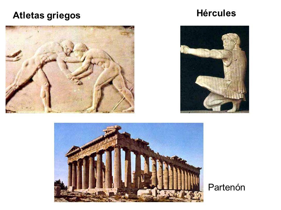 Hércules Atletas griegos Partenón