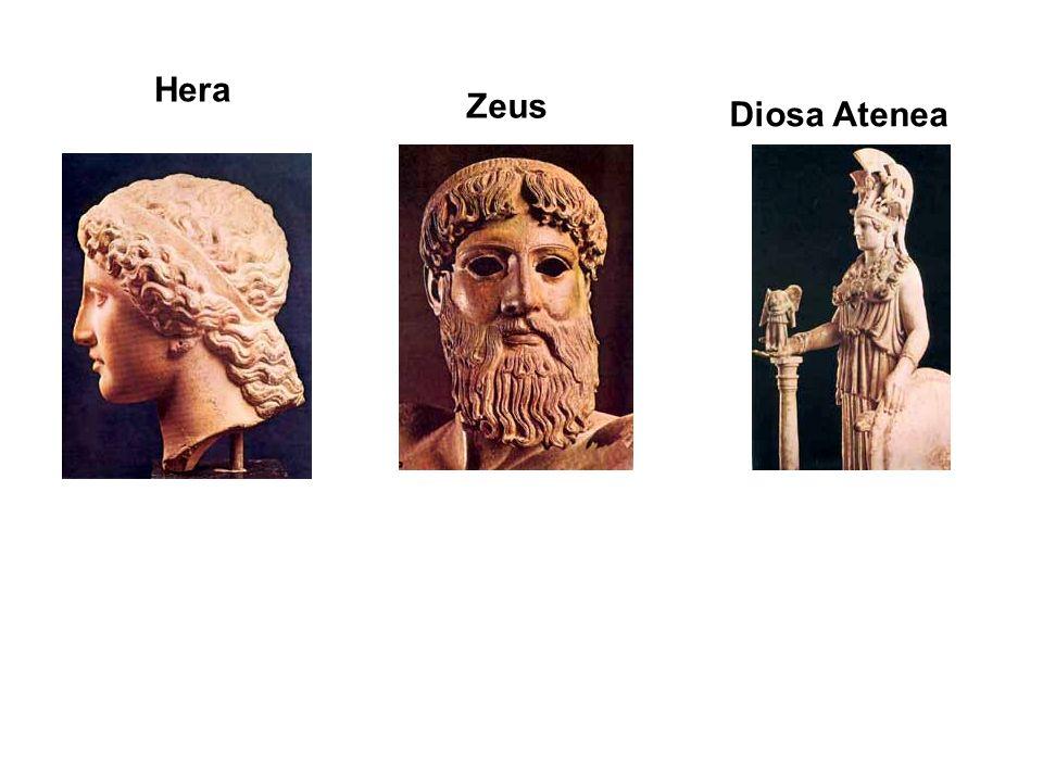 Hera Zeus Diosa Atenea