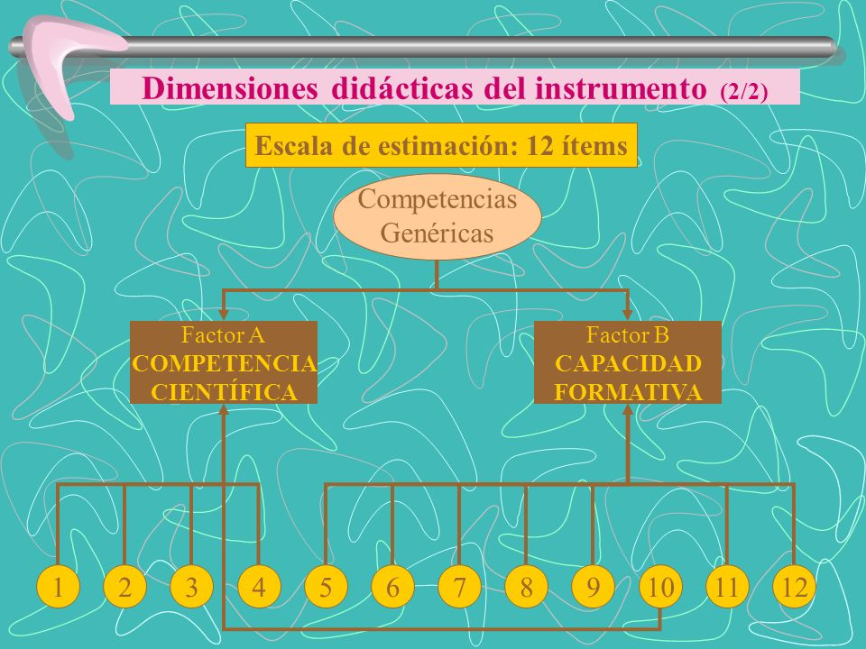 Dimensiones didácticas del instrumento (2/2)