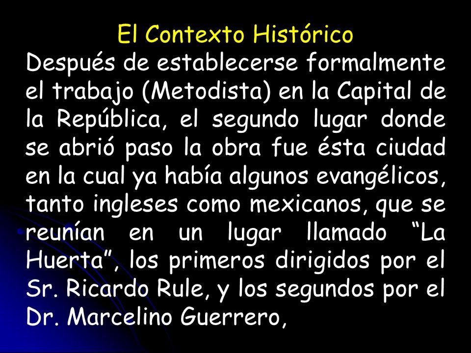 El Contexto Histórico