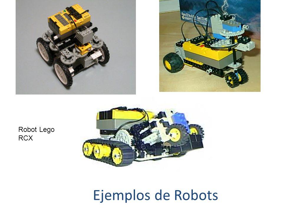Robot Lego RCX Ejemplos de Robots