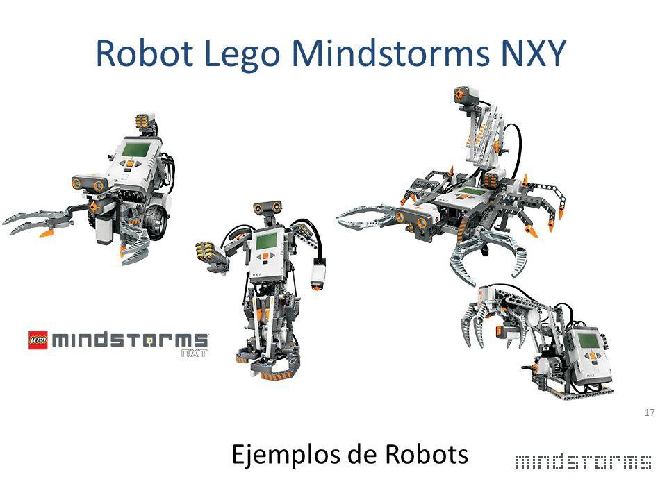 Robot Lego Mindstorms NXY