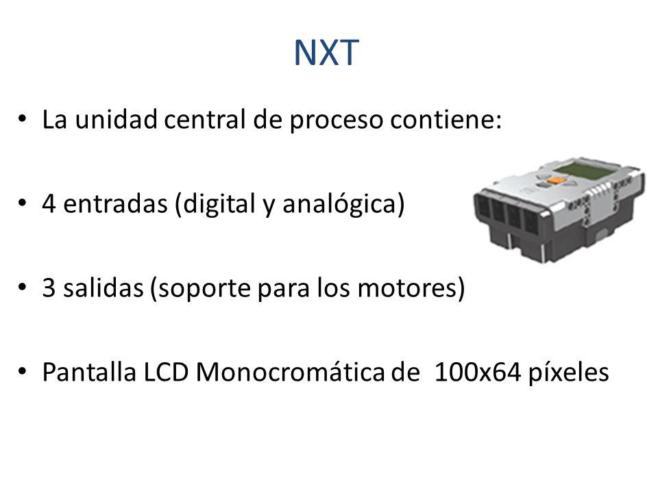 NXT La unidad central de proceso contiene:
