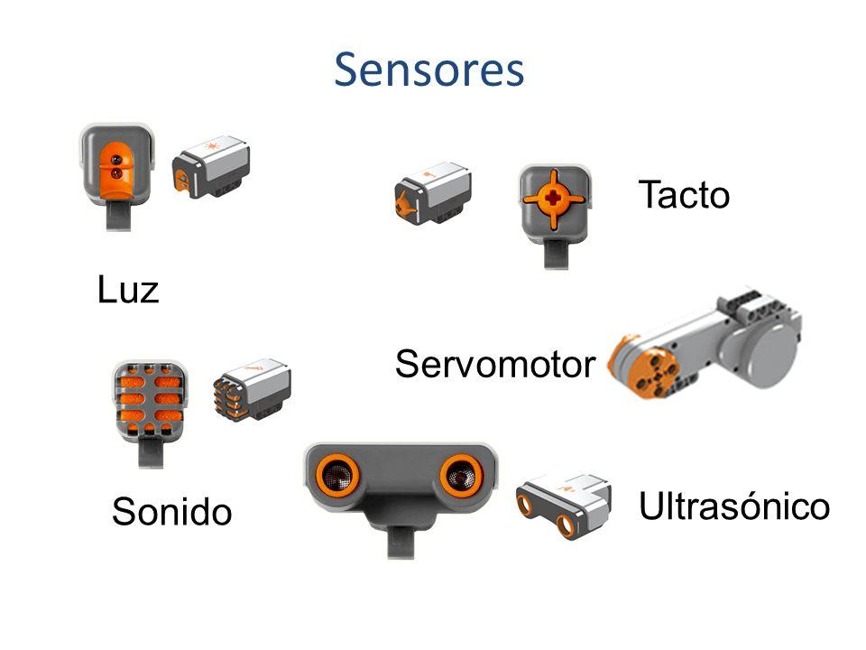 Sensores Tacto Luz Servomotor Ultrasónico Sonido