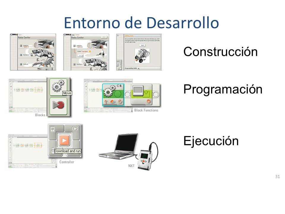 Entorno de Desarrollo Construcción Programación Ejecución
