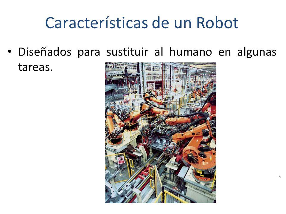 Características de un Robot