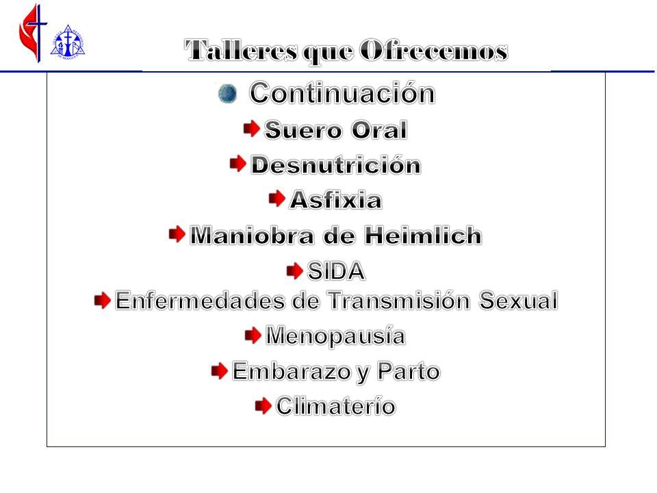 Talleres que Ofrecemos Enfermedades de Transmisión Sexual