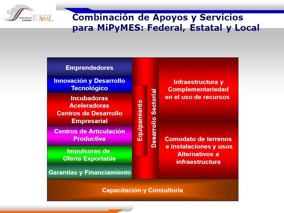 Combinación de Apoyos y Servicios