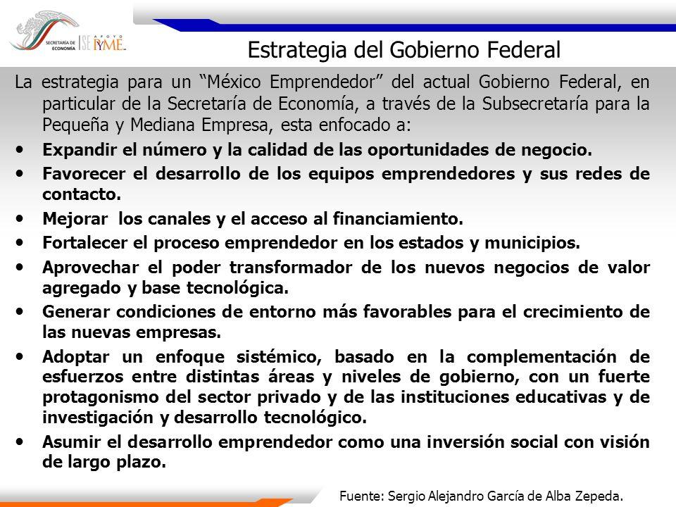 Estrategia del Gobierno Federal