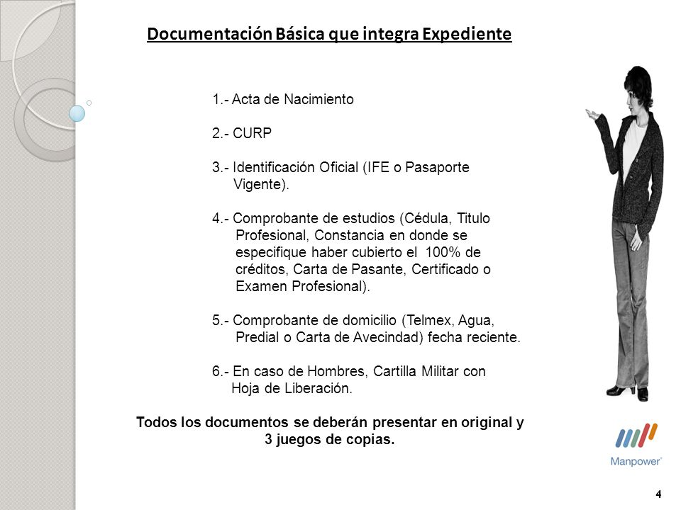 Documentación Básica que integra Expediente