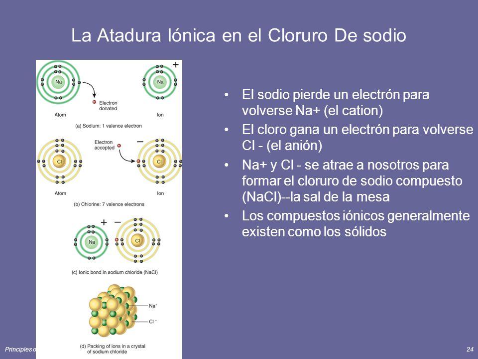 La Atadura Iónica en el Cloruro De sodio