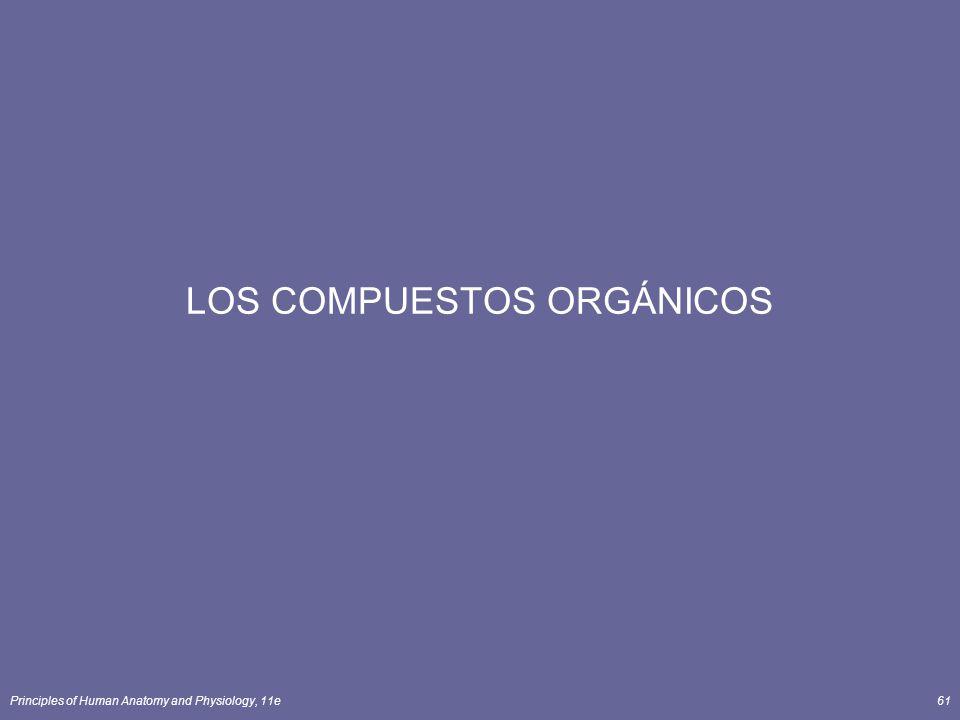LOS COMPUESTOS ORGÁNICOS