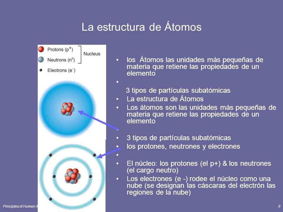 La estructura de Átomos