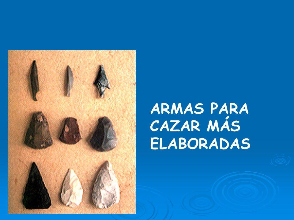 ARMAS PARA CAZAR MÁS ELABORADAS