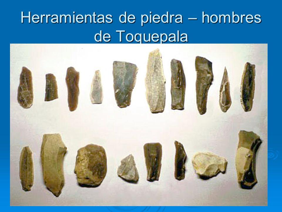 Herramientas de piedra – hombres de Toquepala