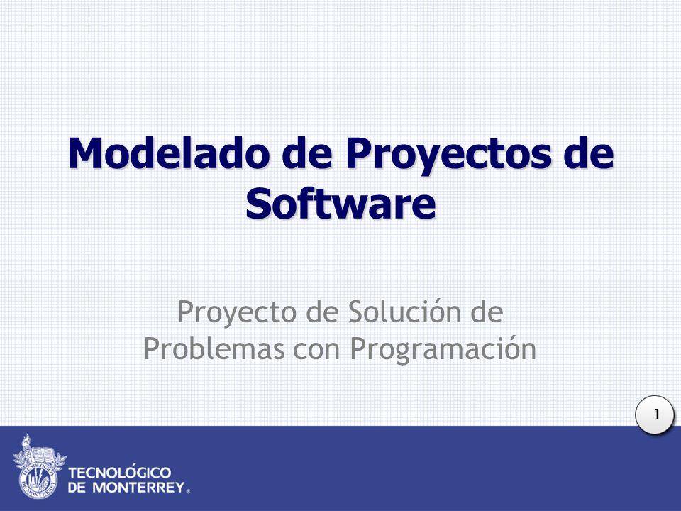 Modelado de Proyectos de Software