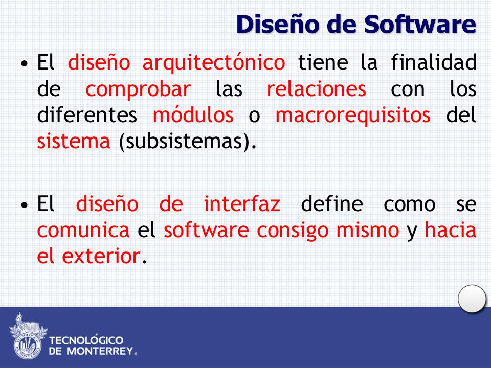 Diseño de Software