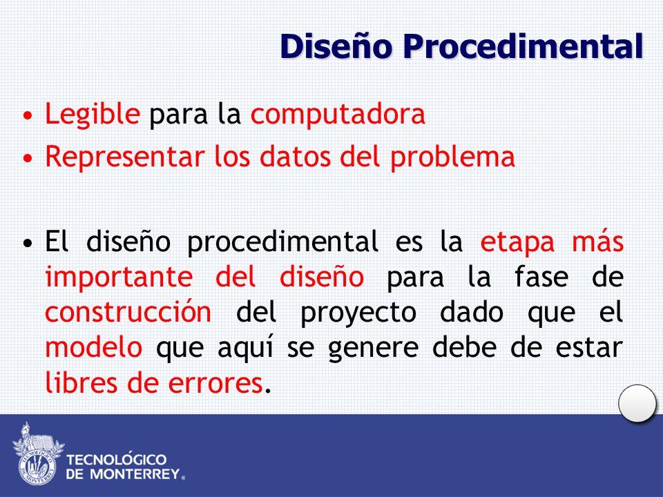 Diseño Procedimental Legible para la computadora