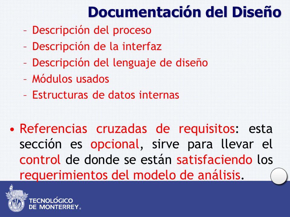 Documentación del Diseño