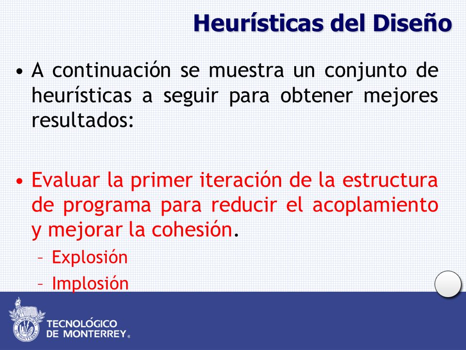 Heurísticas del Diseño