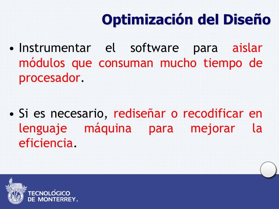 Optimización del Diseño