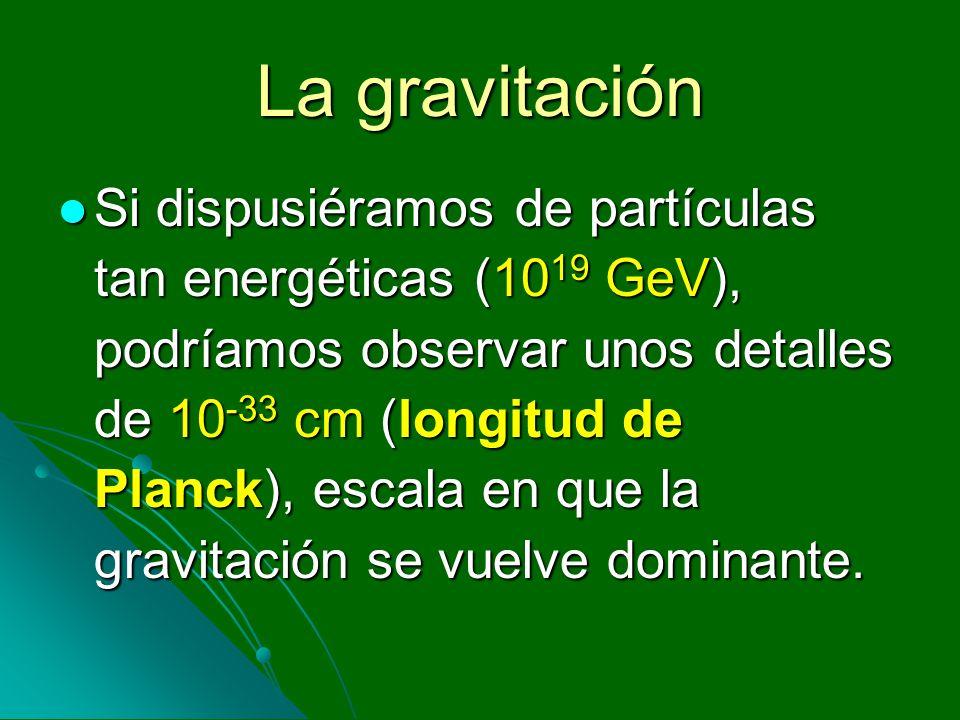 La gravitación