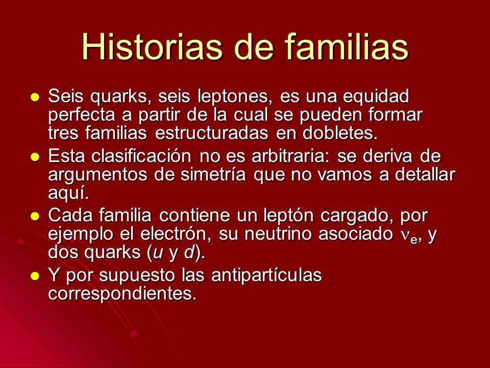 Historias de familias