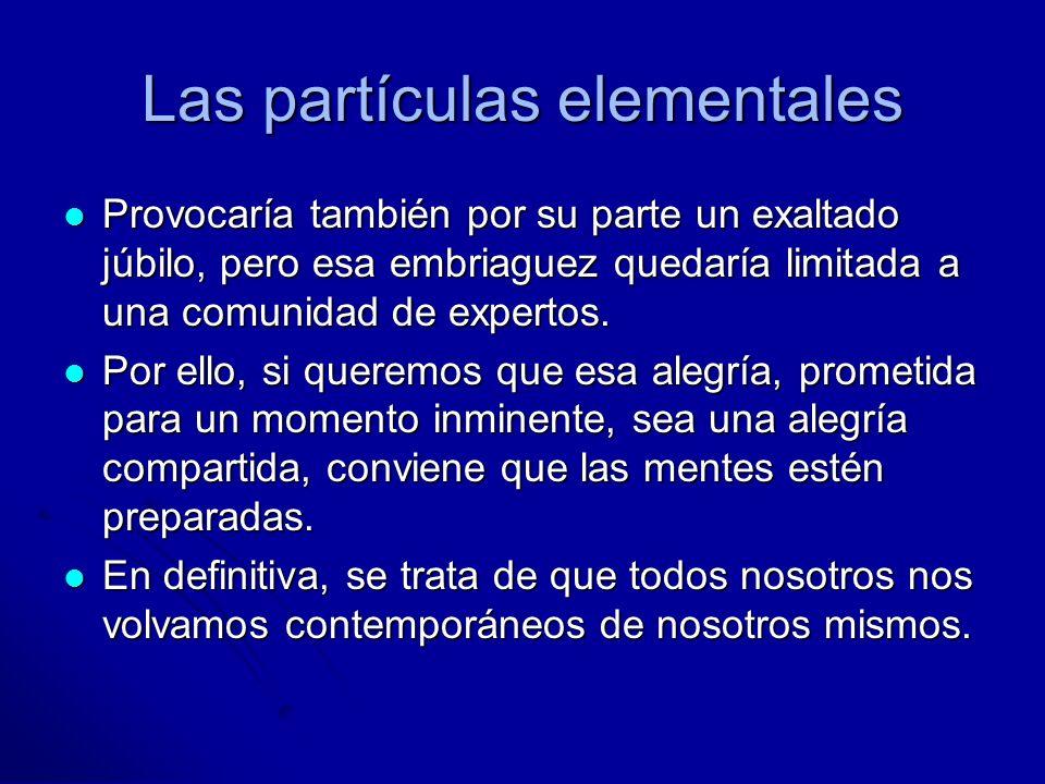 Las partículas elementales