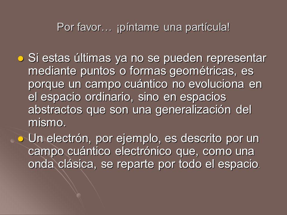 Por favor… ¡píntame una partícula!