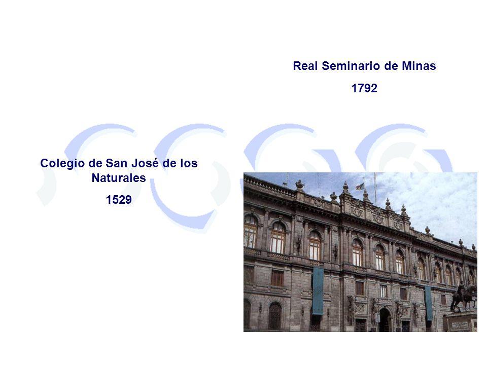 Real Seminario de Minas Colegio de San José de los Naturales