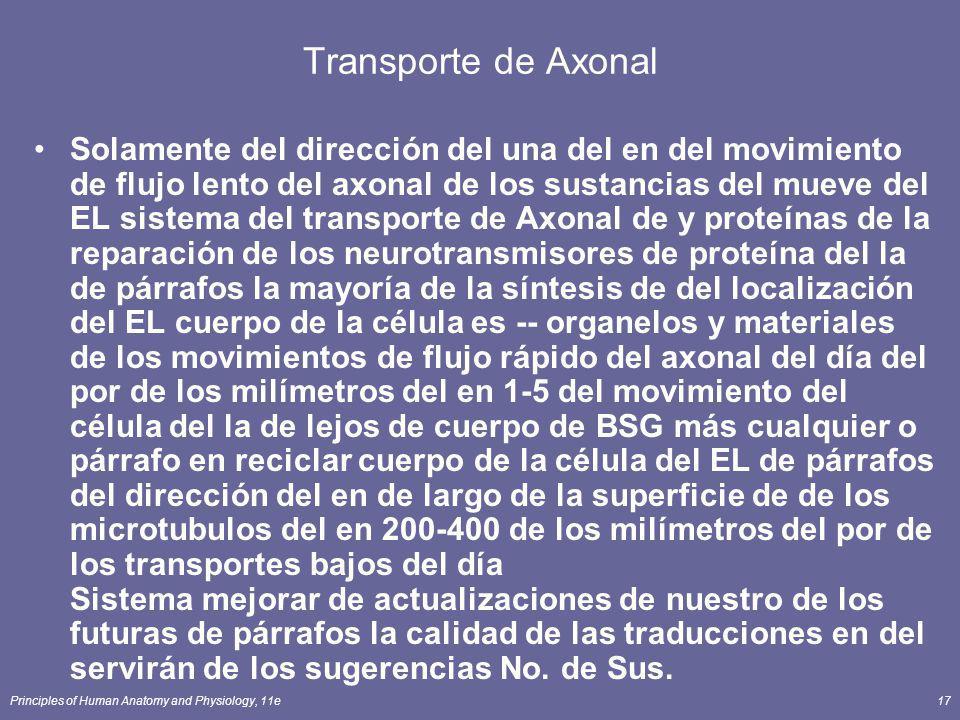 Transporte de Axonal