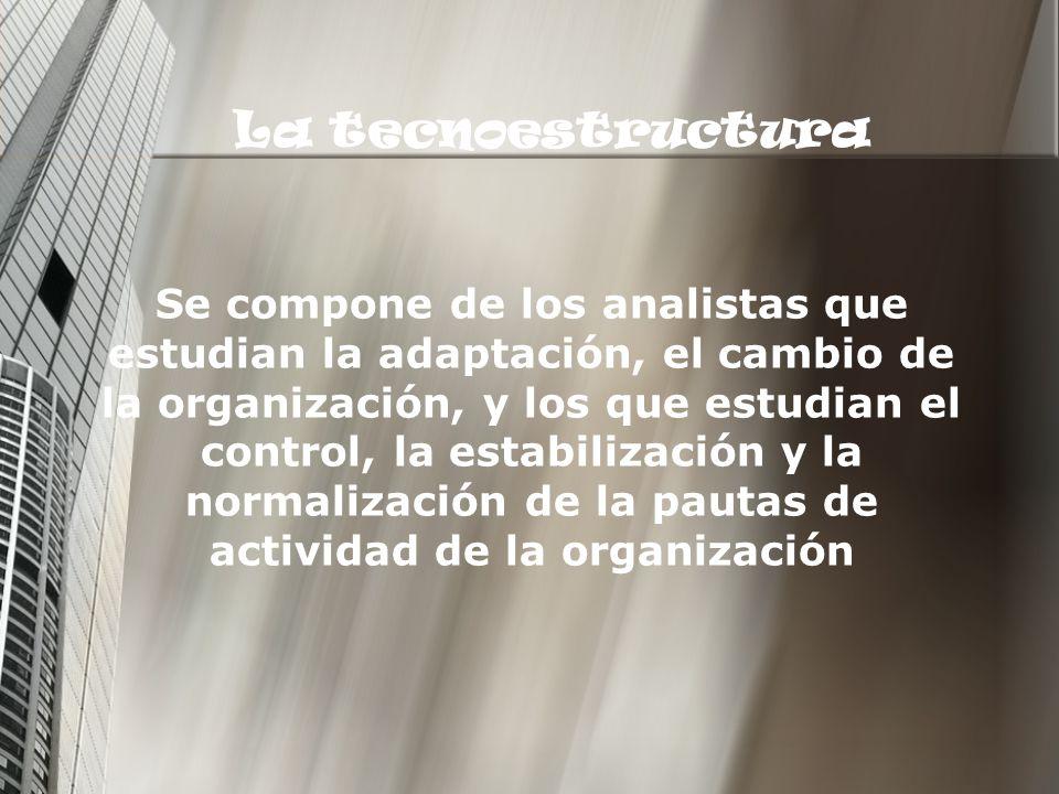La tecnoestructura
