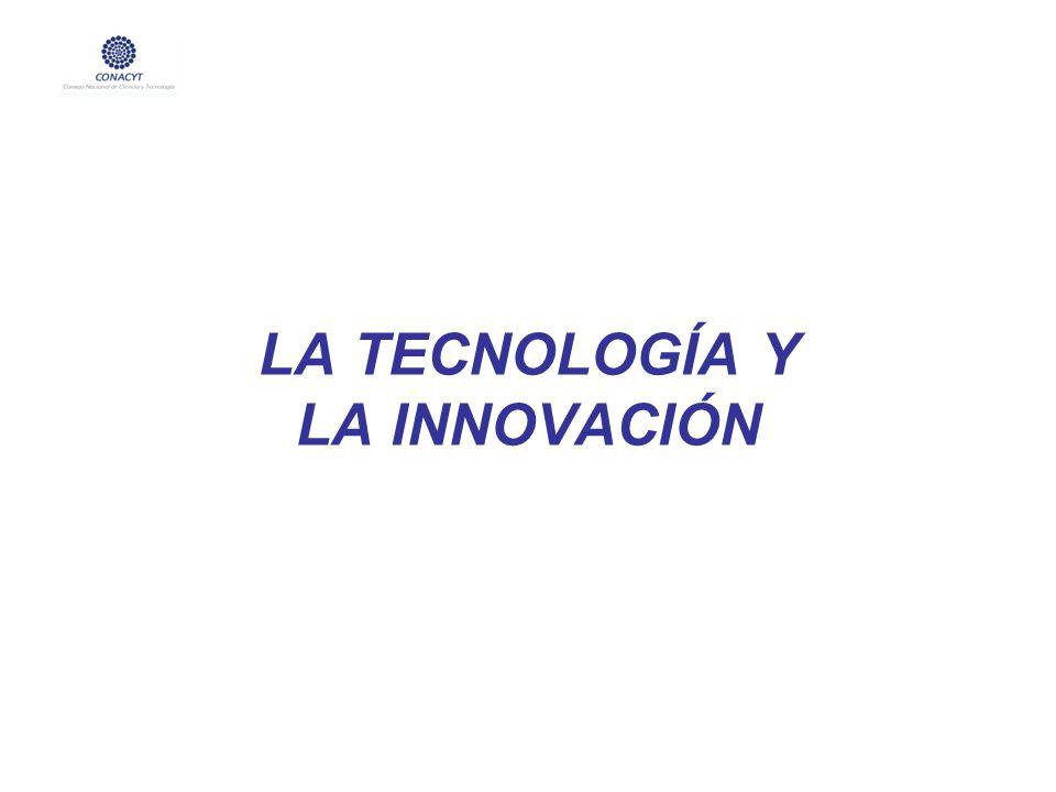 LA TECNOLOGÍA Y LA INNOVACIÓN