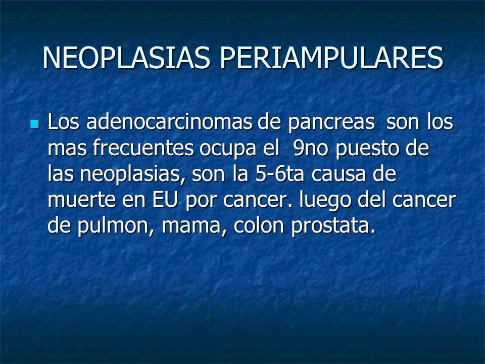 NEOPLASIAS PERIAMPULARES