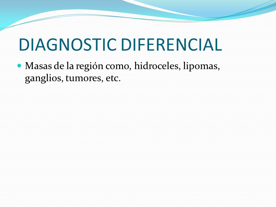 DIAGNOSTIC DIFERENCIAL