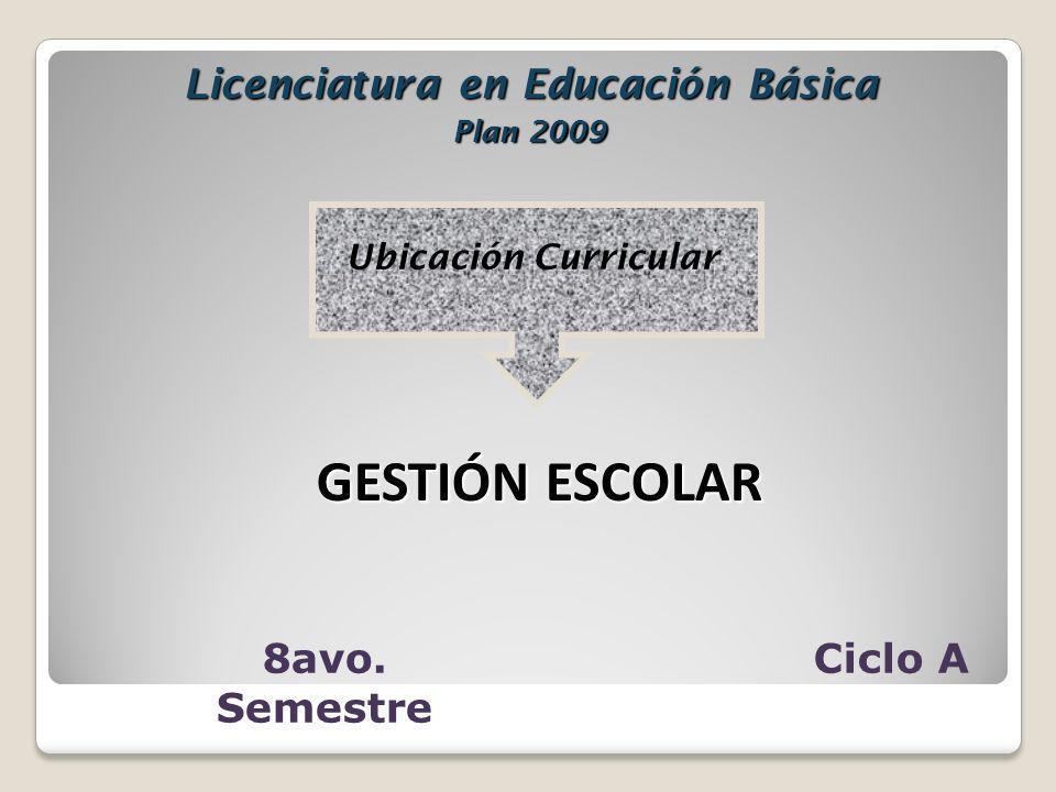 Licenciatura en Educación Básica