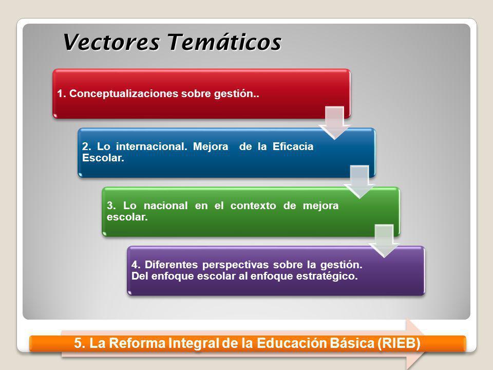 5. La Reforma Integral de la Educación Básica (RIEB)