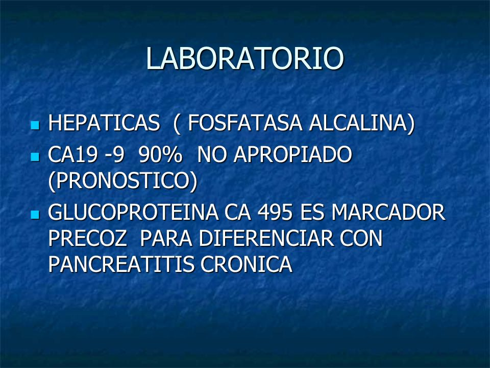 LABORATORIO HEPATICAS ( FOSFATASA ALCALINA)