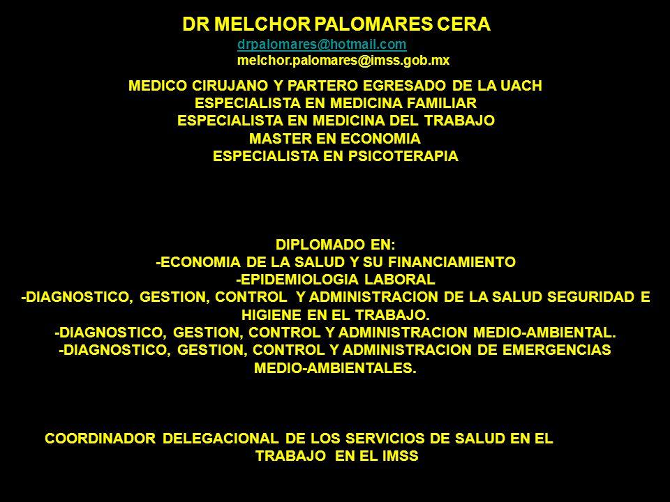 DR MELCHOR PALOMARES CERA