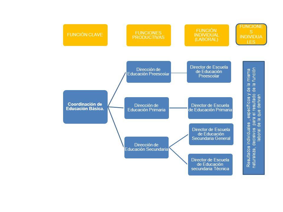 Coordinación de Educación Básica.