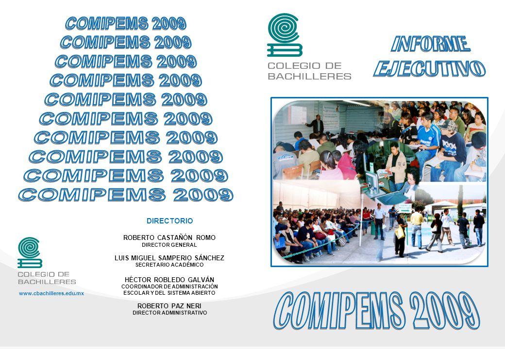 INFORME EJECUTIVO COMIPEMS 2009