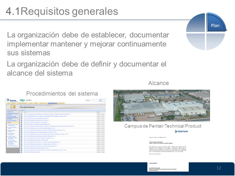 4.1Requisitos generales