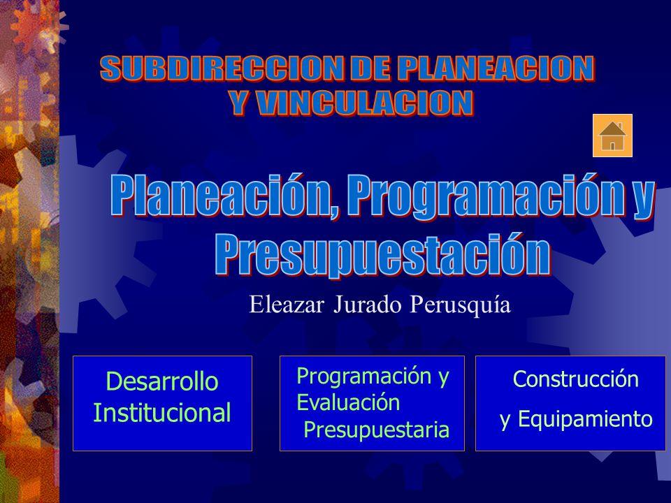 SUBDIRECCION DE PLANEACION Y VINCULACION