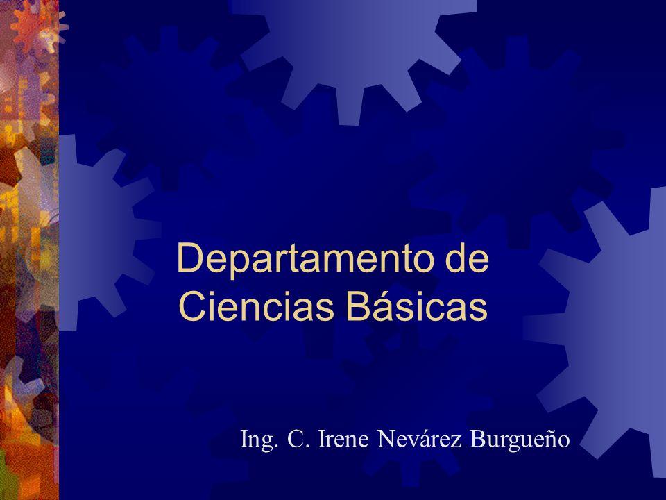 Departamento de Ciencias Básicas