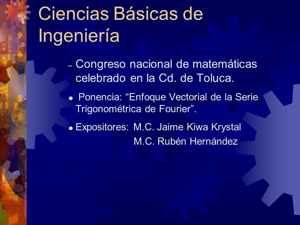 Ciencias Básicas de Ingeniería