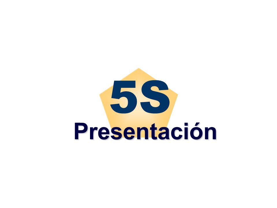 5S Presentación